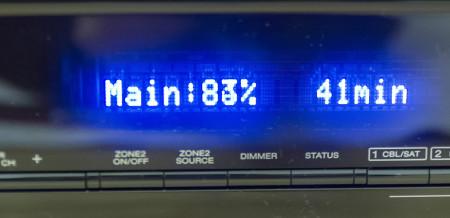 La mise à jour du firmware peut être lancée depuis le menu OSD comme depuis l'interface web du Denon AVR-X3000