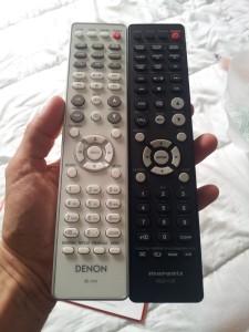 Les télécommandes Marantz et Denon sont pratiquement identique et de très bonne qualité