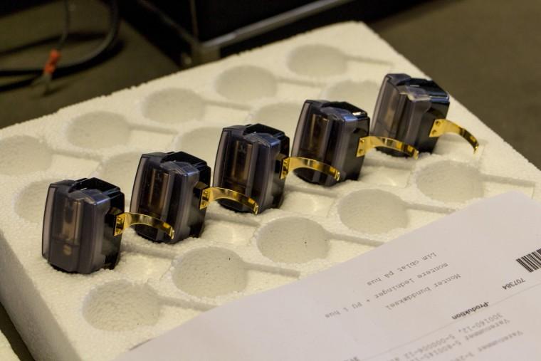Lot de cellules Ortofon SPU, après le test