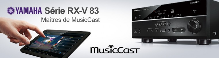 Amplis home-cinéma Yamaha RX-Vx83