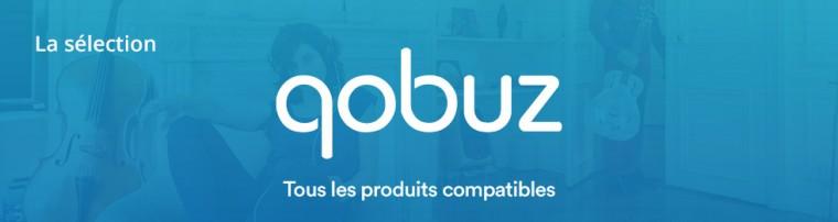Qobuz: tous les produits compatibles