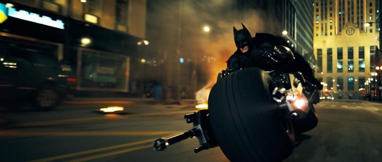 The Dark Knight, partiellement tourné avec de la pellicule IMAX 70 mm.