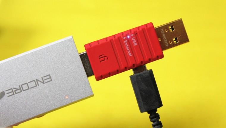 L'iFi Audio iDefender et l'ampli DAC Encore mDSD, un couple gagnant.