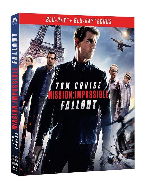 Impossible Mission: FallOut bluray