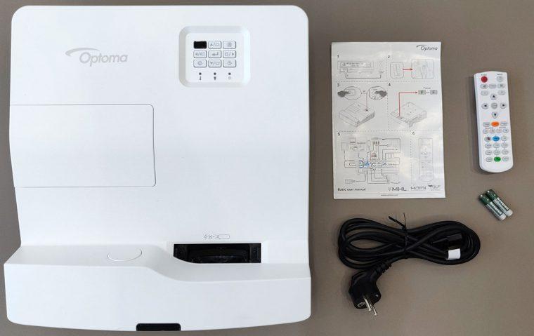 Vidéoprojecteur Optoma HD35UST et accessoires