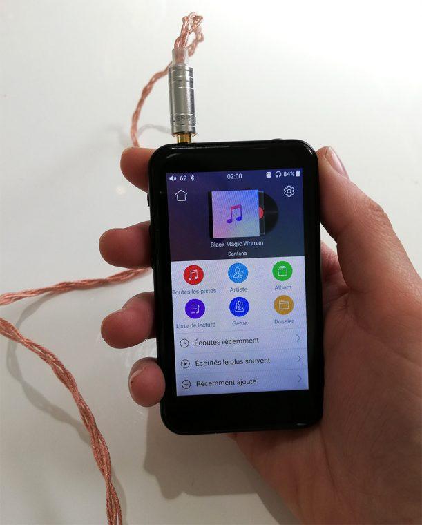FiiO M6 et écouteurs intra-auriculaires iBasso IT01