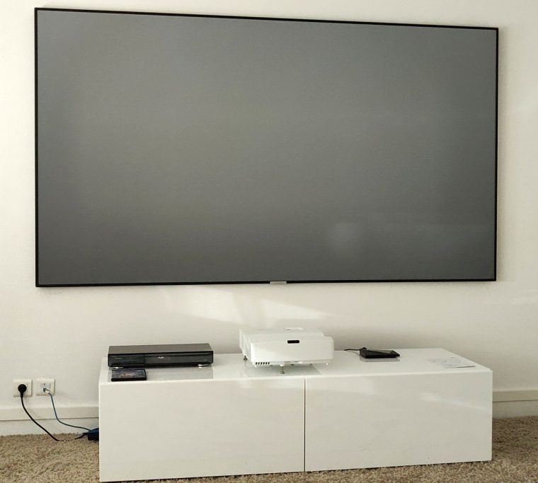 Optoma HD35UST & Lumene Movie Palace UHD 4K Extra Bright