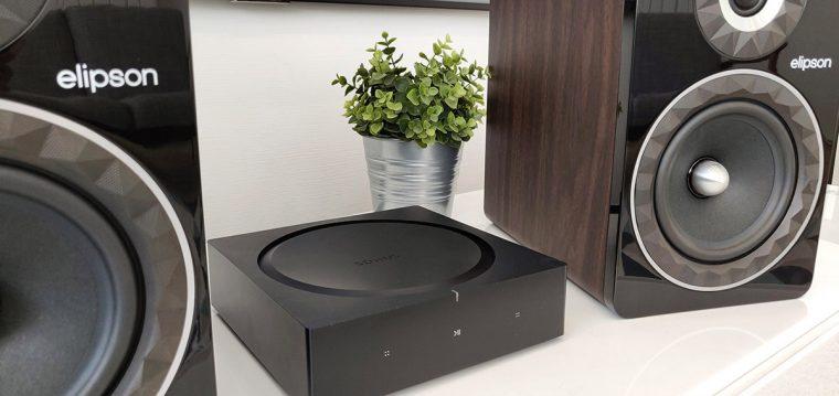Sonos Amp & Elipson Prestige Facet 8B