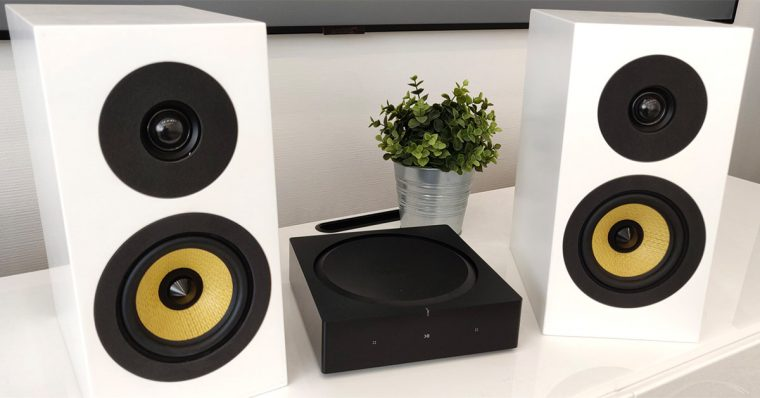 Sonos Amp & Davis Acoustics Courbet N°3