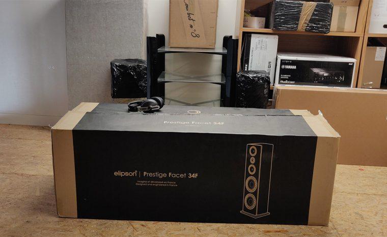 Elipson Prestige Facet 34F: packaging