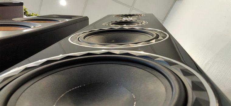 Elipson Prestige Facet 34F: 2 haut-parleurs de 25 cm pour le grave.